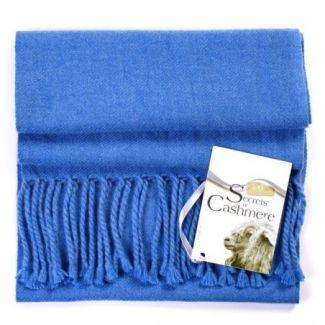 Cashmere foulard Blue chine