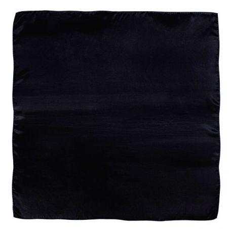 Esarfa matase L. Biagiotti Plain negru