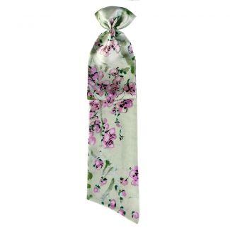 Eşarfă cu volan MC flori lila