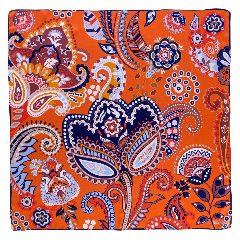 Silk scarf Magic Dream Spicy Caramel