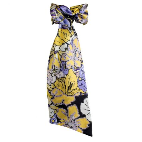 Luxury gift: Lavander Frill Scarf and Bowed Headband
