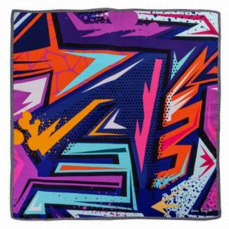 Silk scarf Electric Purple
