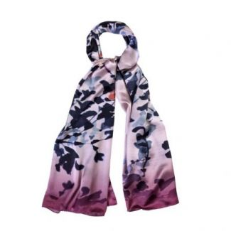 Silk shawl Legendary Roz pal Blush