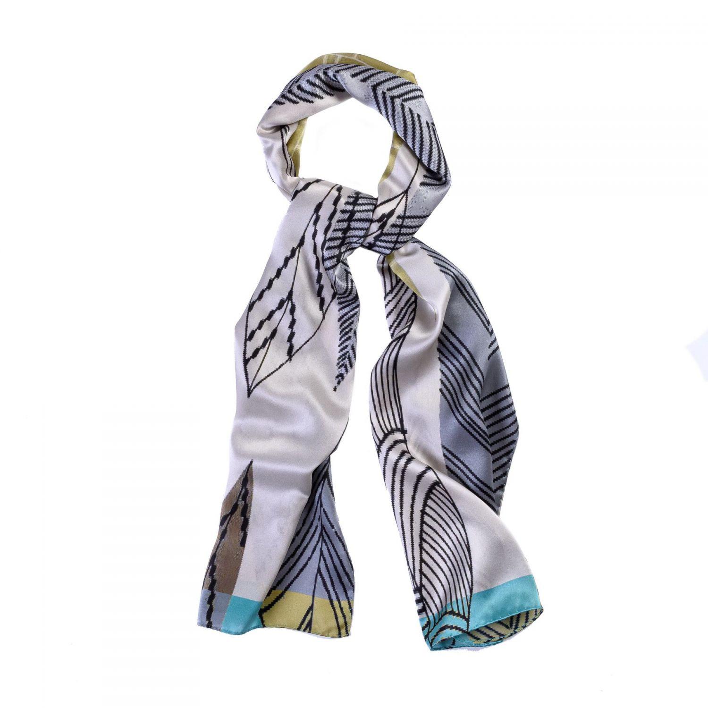 Silk shawl Milano Fashion Grey