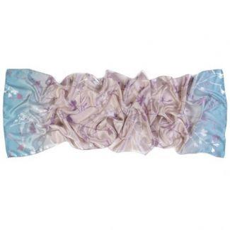 Silk shawl Delicate Blossom Nude