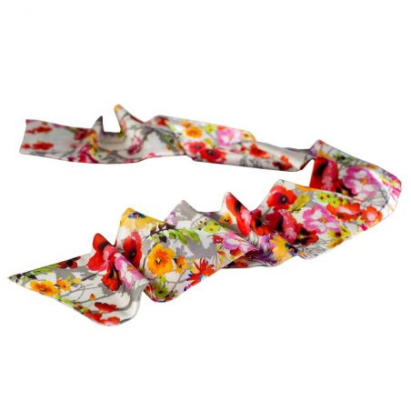 Luxury gift: Sunshine Silk Scarf and Bow