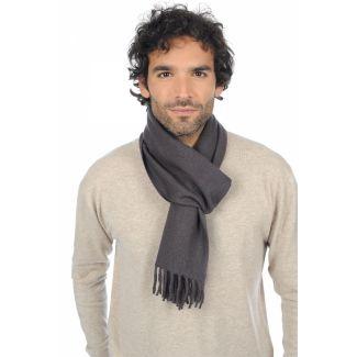 Cashmere foulard Charcoal