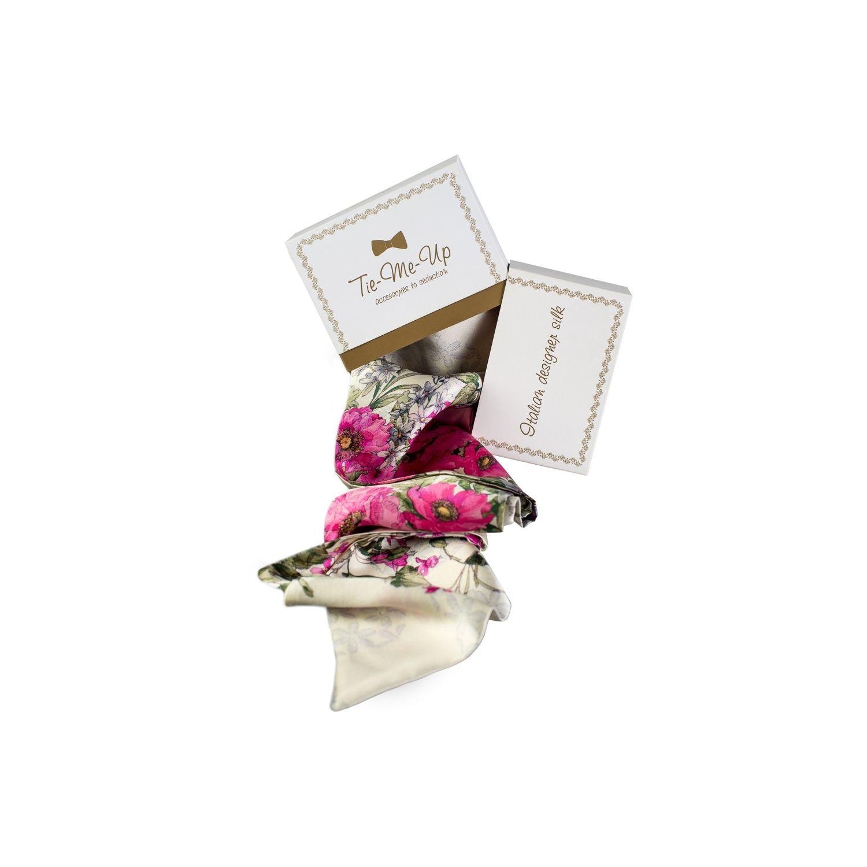 Cadou: Eşarfă lungă şi fundiţă Sweet Caroline