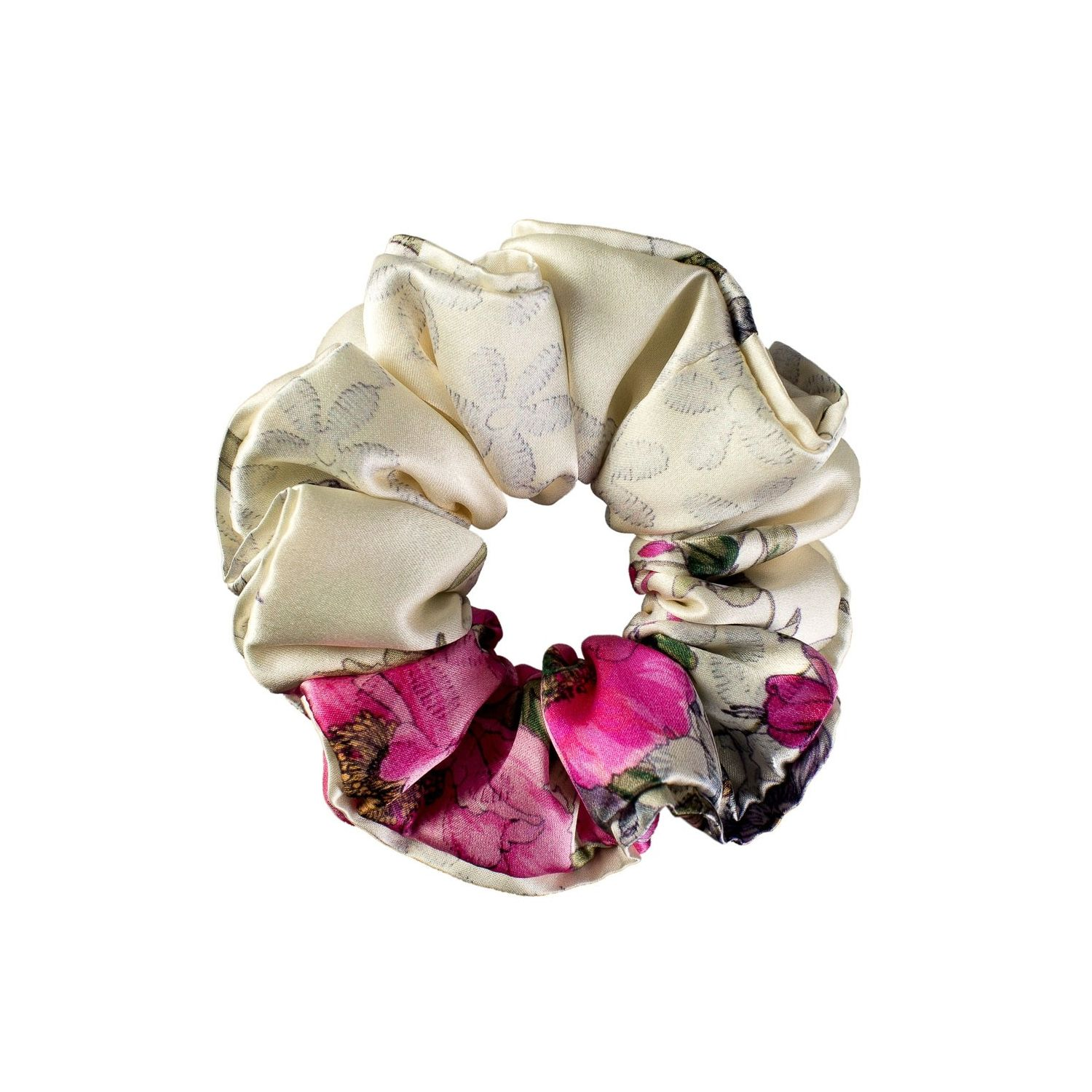Silk Scrunchies For Natural Hair