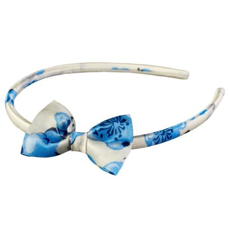 C'est Moi Natural Silk Bowed Headband