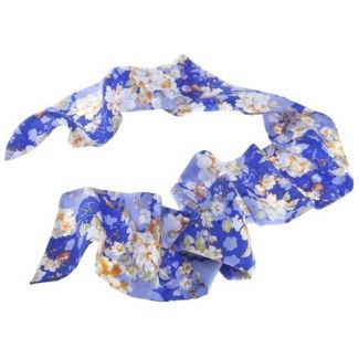 Ungaro blue Long Scarf