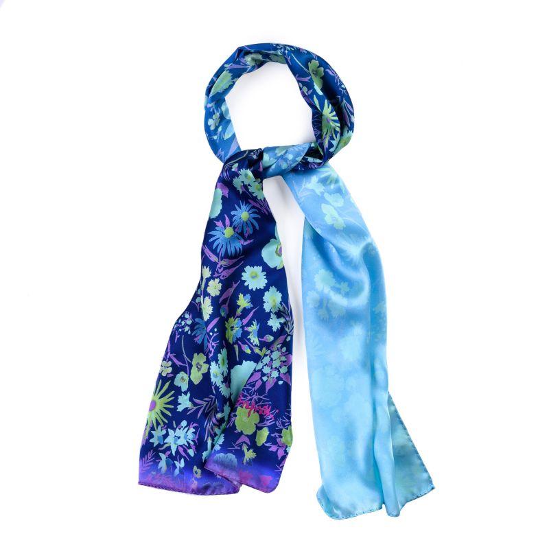 Silk shawl About Summer pink
