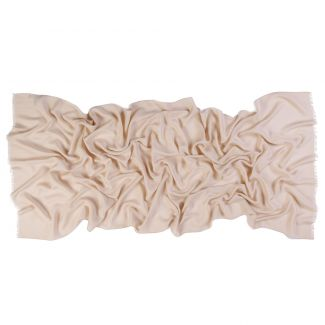 Silk, cashmere and wool scarf  Mila Schon Special nude