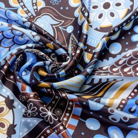 Silk scarf Fairy Tale Blue