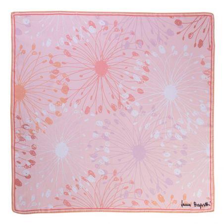 Silk scarf Coral Innocence