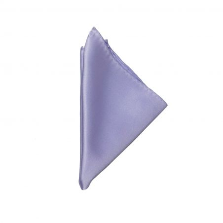 Lilac silk pocket