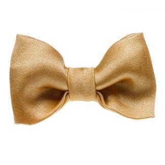 Golden bow clip