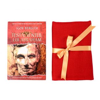 Gift Wool and Cashmere shawl scarlet red and bestseller Testamentul lui Abraham