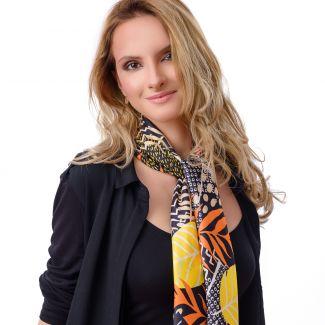 Silk scarf Addicted to Fashion
