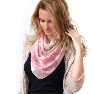 Silk scarf Magic Dream Candy