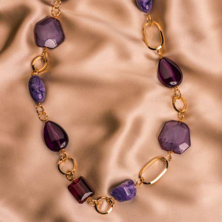 Colier D&D Firenze Violet Obsesion gold