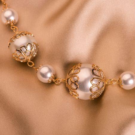 Colier D&D Firenze Pearls Art gold