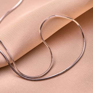 Lantisor argint 1 mm simplu 40cm