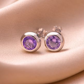 Sterling Silver Earrings My pleasure lavander