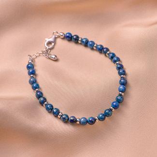 Sterling Silver Bracelet chrysocolla