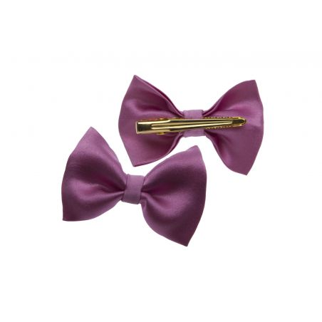 Gift: Pink and lilac lace Marina D'Este Squared Scarf with bow