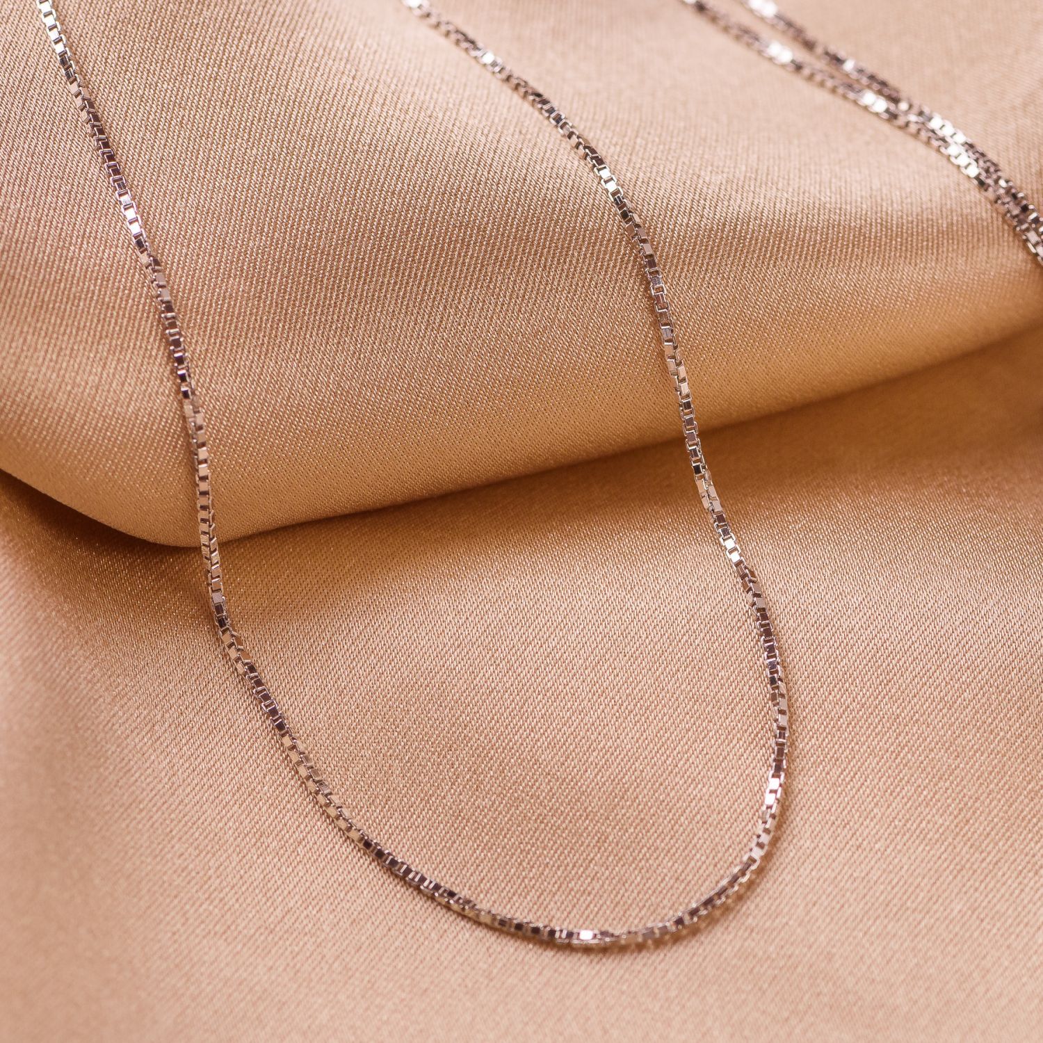 Sterling Silver Necklace 45+ cm
