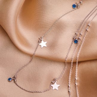 Sterling Silver Necklace Give me a Star