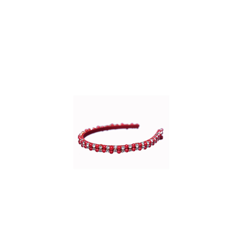Red Glamour Headband