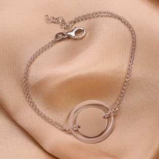 Sterling Silver Bracelet Feeling Good