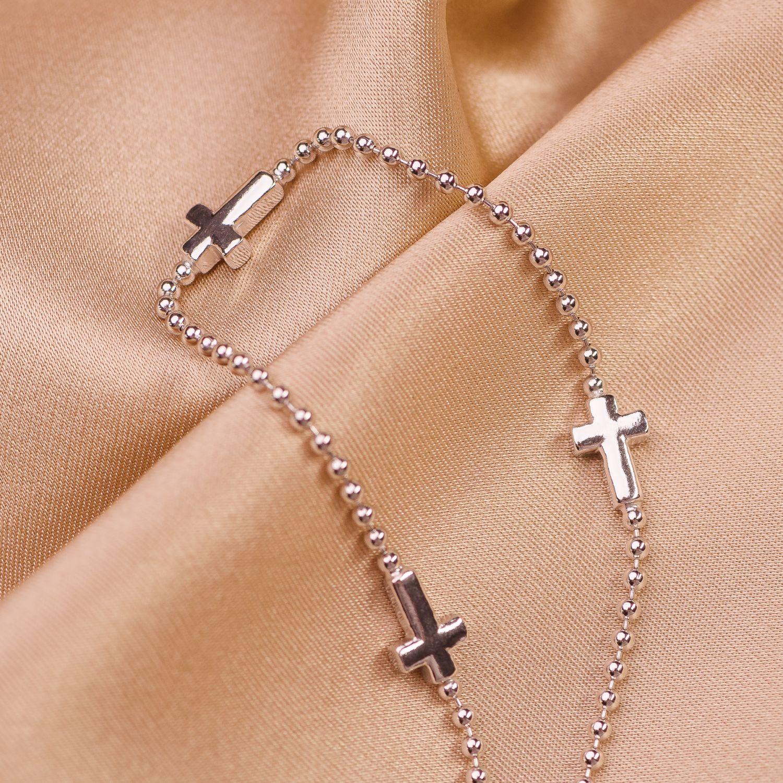 Bratara argint Cross