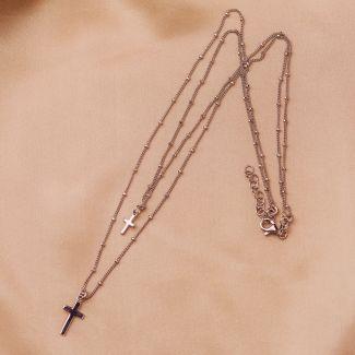 Colier argint DB Cross