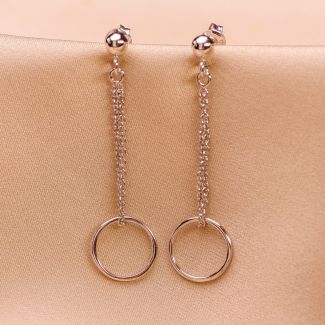 Sterling Silver Earrings Be with you