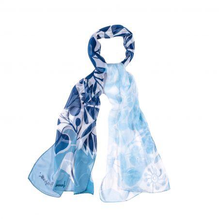 Sal matase Cool Flowers Ice blue