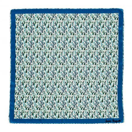 Silk scarf S twill Vera Cruz blue