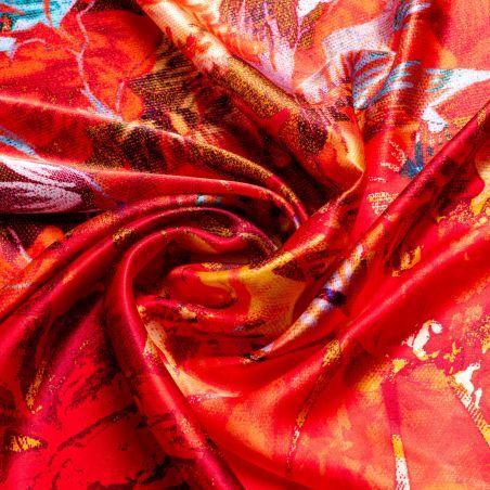 Silk scarf Autumn Euphoria