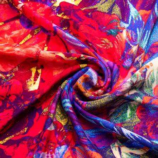 Silk scarf Summer Euphoria