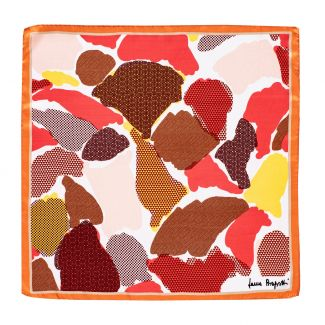 Silk scarf S Mood Vibes orange