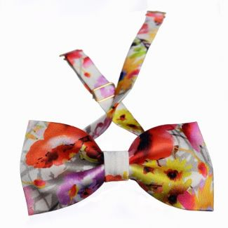 Sunshine silk bow tie