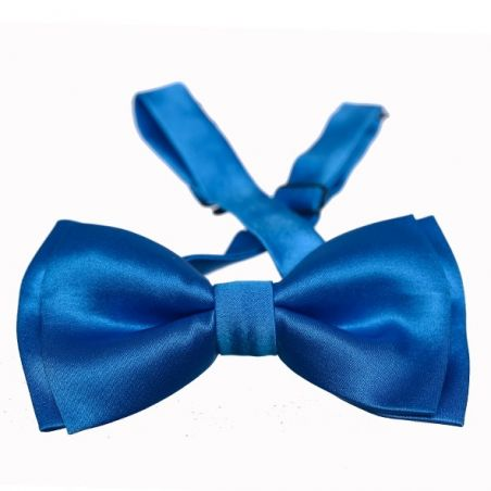 Turqoise blue men bow tie