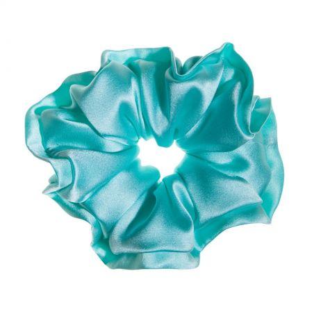 Light turquoise hair twist