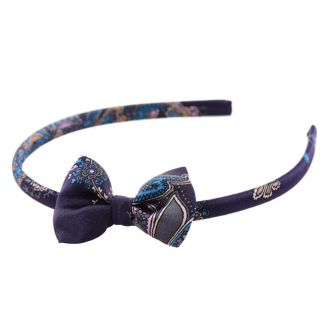 Rhapsody in Blue Bow Headband