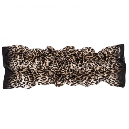 Sal matase Animal Print black