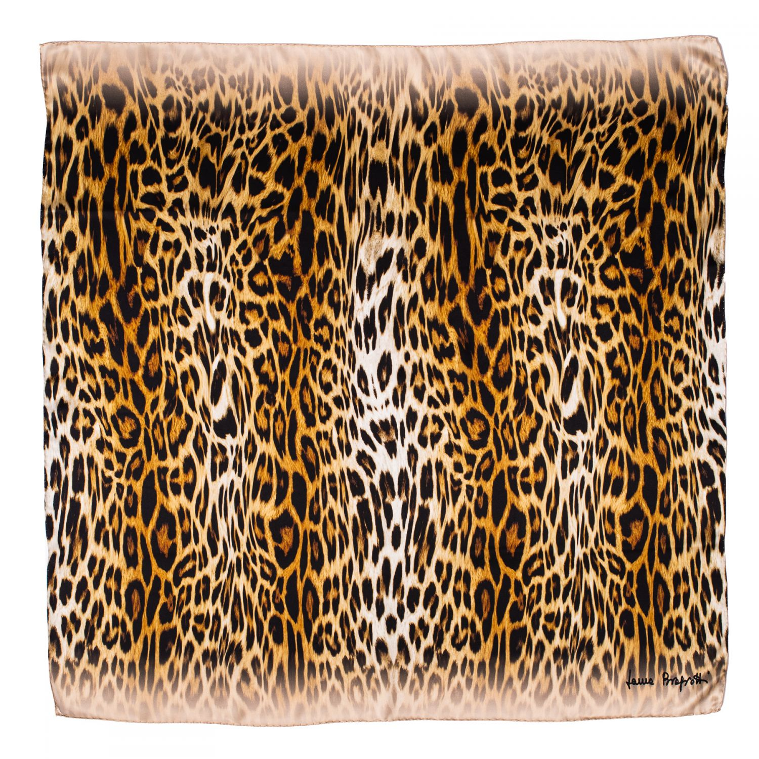 Esarfa matase True Animal Print