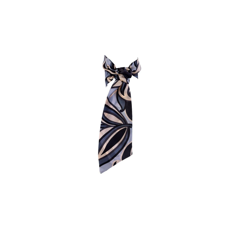 Eşarfă cu volan Ungaro graffic grey