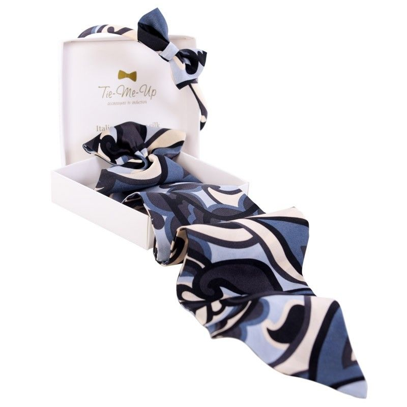 Luxury gift: Hypnose Frill Scarf and Bowed Headband